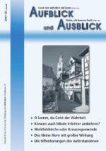 Aufblick und Ausblick 3/2019