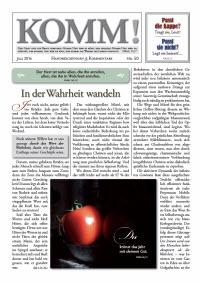 l gassmann.de media wysiwyg Content Komm Komm 50 - KOMM! Zeitschriften