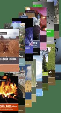 REIHE ORIENTIERUNG Erste Staffel: Band 1-8: 8 Broschüren über brandaktuelle Themen zum Sonderpreis-0
