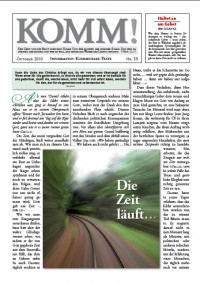 webdisk BilderZeitschirften Komm komm35 - KOMM! Zeitschriften