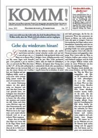 webdisk BilderZeitschirften Komm komm 37 - KOMM! Zeitschriften