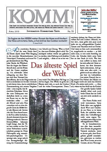 webdisk Image komm33 - KOMM! Zeitschriften