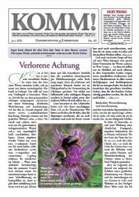 www.l gassmann.de media wysiwyg Content Komm Komm46 - KOMM! Zeitschriften