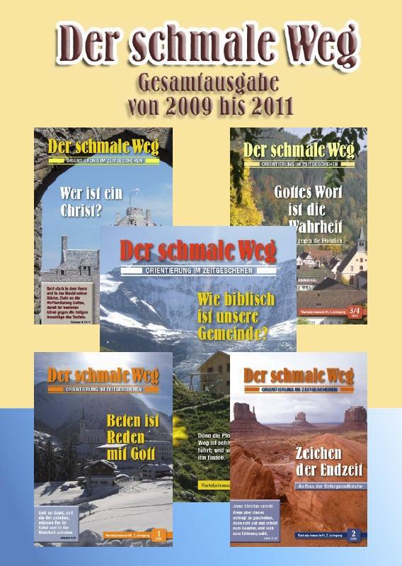Buch DER SCHMALE WEG Nr. 1 mit Original-Nachdruck der Jahrgänge 2009 bis 2011 (544 Seiten, durchgehend farbig, stabiles Hardcover, Reprint in begrenzter Auflage)-0