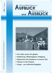 Aufblick und Ausblick 3/2016