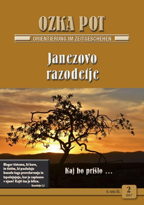 DSW 2 2017 slowenisch - OZKA POT 2 / 2017