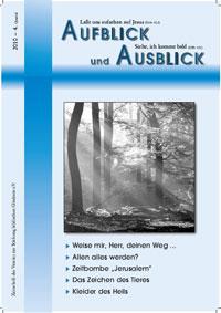 aufblick ausblick4 10 - Kurzbiografie Dr. Lothar Gassmann