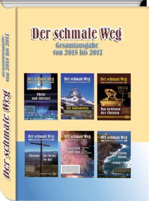 Buch DER SCHMALE WEG Band 3 mit allen 12 Heften der Jahrgänge 2015 bis 2017, Reprint in begrenzter Auflage, 592 Seiten, stabiles Hardcover, durchgehend vierfarbig