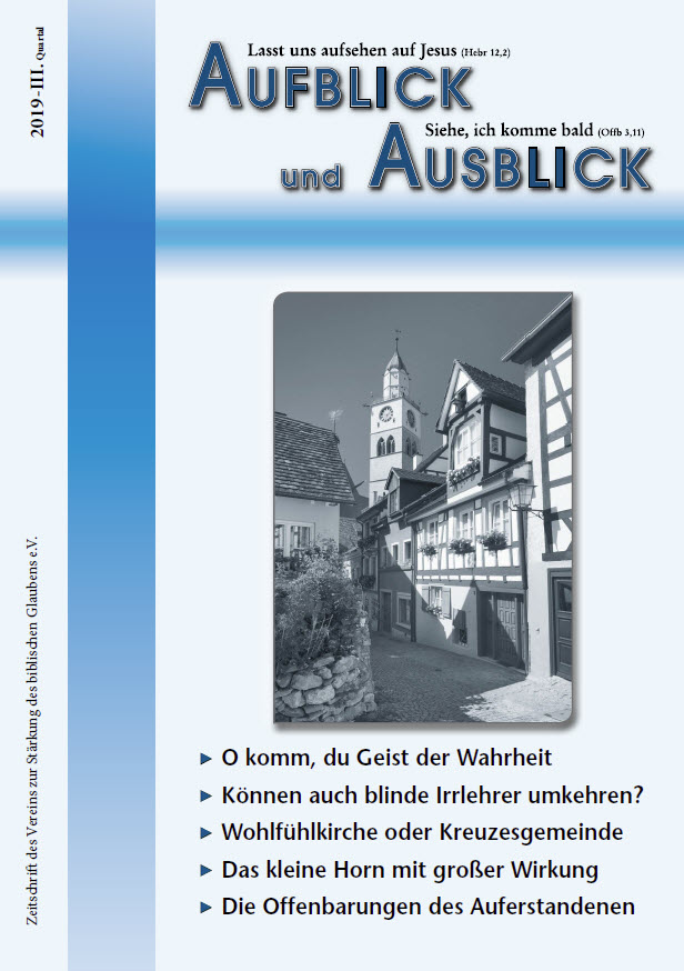 AuA 3 2019 - Aufblick und Ausblick 3/2019