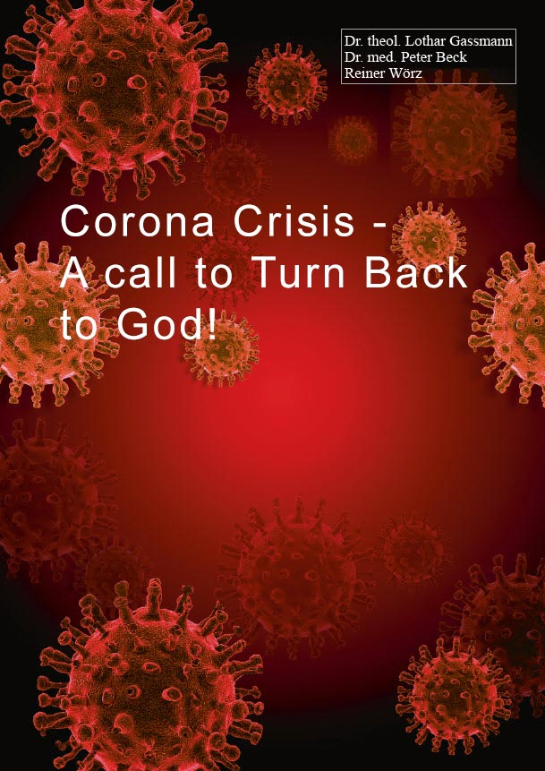 CoronaCover englisch - Corona Crisis - A Call to Turn Back to God!