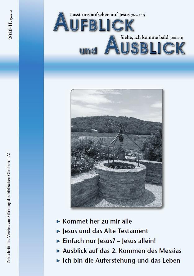 AfuAs 2020 2 - Aufblick und Ausblick 2/2020