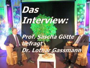Das Interview 300x225 - Z 57 DAS INTERVIEW und DIE ENDZEIT-TRILOGIE Prof. Sascha Götte interviewt Dr. Lothar Gassmann über sein Leben. Dazu 5 Vorträge über Endzeit, Neue Weltordnung, Gemeinde, Ökumene und die Wiederkunft des HERRN JESUS CHRISTUS